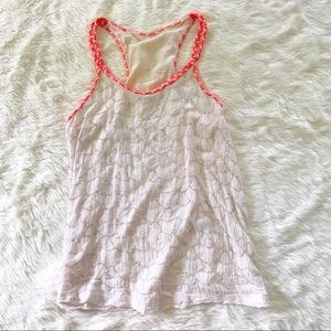 Urban Outfitters • beaded tank top